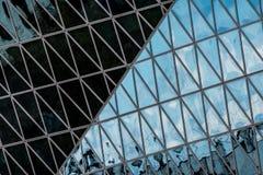 Geometri och Archtecture Arkivfoto