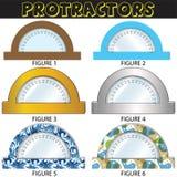Geometri - versiyon ajustado 01 dos PROLONGADORES ilustração stock