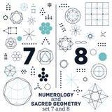 geometria święta Zdjęcia Royalty Free
