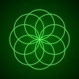 geometria święta Symbol harmonia Zdjęcia Stock