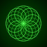 geometria święta Symbol harmonia royalty ilustracja