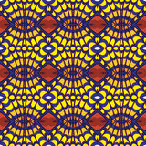 Geometria abstrakcjonistyczny bezszwowy deseniowy projekt Ilustracja Wektor