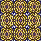 Geometria abstrakcjonistyczny bezszwowy deseniowy projekt Royalty Ilustracja