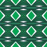 Geometria abstrakcjonistyczny bezszwowy deseniowy projekt Ilustracji