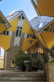 Geometria arquitetónica Rotterdam Fotografia de Stock