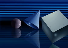 Geometria básica Imagens de Stock