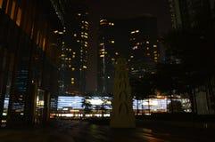 Geometria da cidade Fotografia de Stock