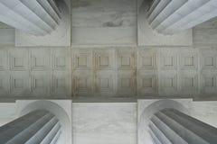 Geometria da coluna Fotografia de Stock