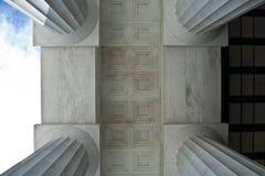 Geometria da coluna Fotos de Stock