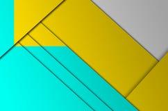 A geometria da cor do fundo Fotos de Stock Royalty Free