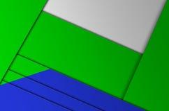 A geometria da cor do fundo Fotografia de Stock Royalty Free