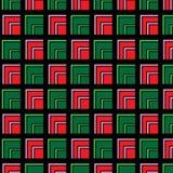 Geometria do teste padrão do fundo Fotografia de Stock Royalty Free