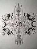 Geometria má Imagens de Stock Royalty Free