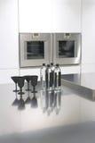 Geometria na cozinha Imagens de Stock Royalty Free