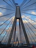 Geometria na ponte Foto de Stock