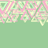 geometria pastel Obraz Royalty Free