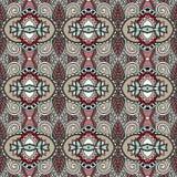 Geometria rocznika kwiecisty bezszwowy wzór Zdjęcie Stock