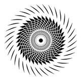 Geometria sagrado - design floral Foto de Stock Royalty Free