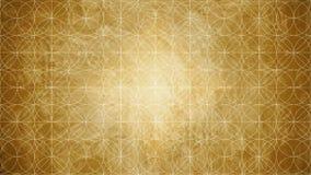 Geometria sagrado na forma do teste padrão de flor Foto de Stock Royalty Free