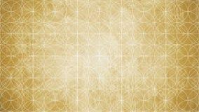 Geometria sagrado na forma do teste padrão de flor Fotos de Stock Royalty Free