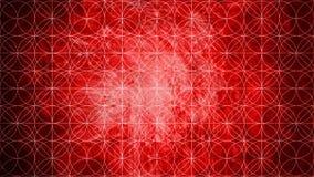 Geometria sagrado na forma do teste padrão na textura de papel velha com referência a Imagens de Stock