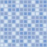Geometria spokoju błękitnego tła wektorowy bezszwowy wzór Ilustracji