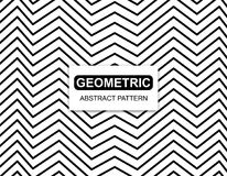 Geometric Absract Pattern on White background. Editable vector royalty free illustration