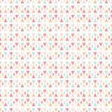 Geometric abstracе seamless pattern background Stock Photo