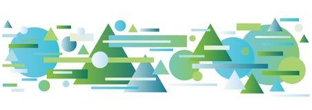 Geometric abstract Stock Photo