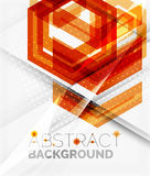 Geometric abstract background. Arrow design Stock Image