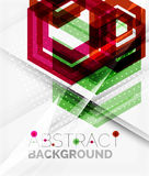Geometric abstract background. Arrow design Royalty Free Stock Photography