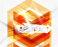 Geometric abstract background. Arrow design Royalty Free Stock Photos