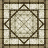 Geometric Abstract Background. In brown and white tones Royalty Free Stock Images