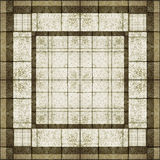 Geometric Abstract Background. In brown and white tones Stock Photos