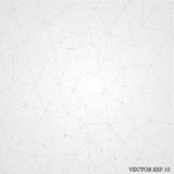 Geometric abstract background with connected lines. Vector ESP 10 stock illustration