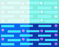 Geometric abstract background consisting of four squares of different colors vector illustration