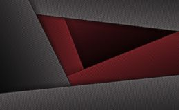 Geometric background with corrugated frames of gray and dark red hue. Geometric abstract background with corrugated frames of gray and dark red hue Stock Photo