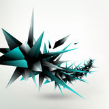 Geometric abstract Royalty Free Stock Image