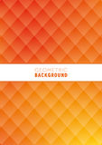 Geometric Abstract Background. A geometric abstract background design in orange and yellow Stock Image