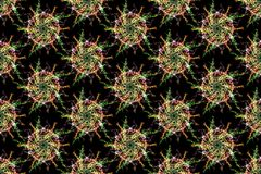 Geometric abstract background. Digital art. Stock Photography