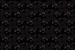 Geometric abstract background. Digital art. Stock Image