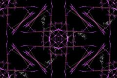 Geometric abstract background. Digital art. Royalty Free Stock Photography