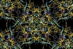 Geometric abstract background. Digital art. Stock Photos