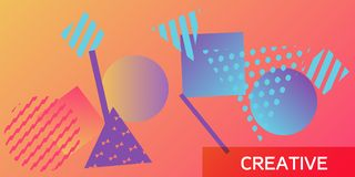Geometric abstract background. vector illustration