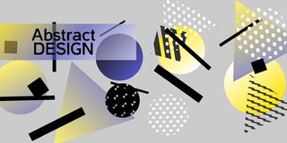 Geometric abstract background. stock illustration