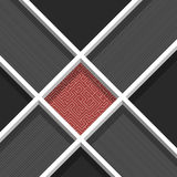 Geometric abstract background Royalty Free Stock Photos