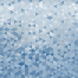 Geometric abstract background made of triangles Stock Photography