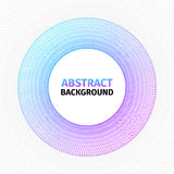 Geometric abstract background. Realistic vector illustration royalty free illustration