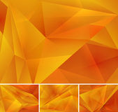 Geometric abstract background. Series, file format EPS 10 Stock Photo