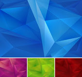 Geometric abstract background. Series, file format EPS 10 Stock Photography